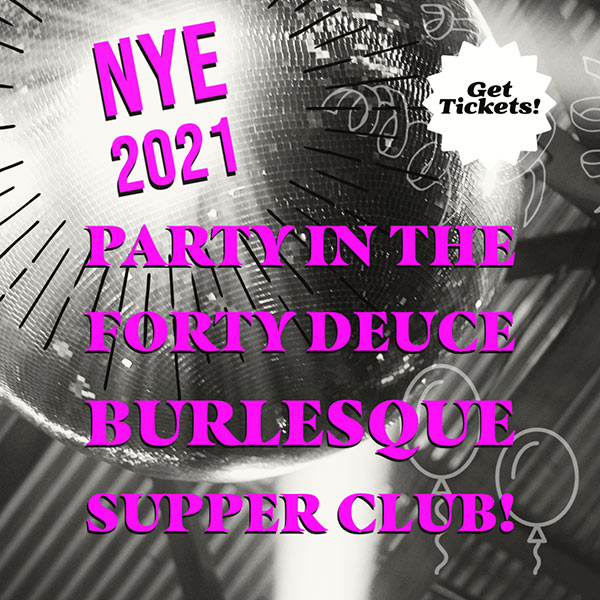 New Year's Eve At Ivan Kane's Forty Deuce